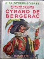 Cyrano De Bergerac Par Edmond Rostand - Bibliothèque Verte Hachette - Livres, BD, Revues