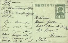 1925 - CARTOLINA POSTALE BULGARIA (България) - VIAGGIATA X TORINO - 1909-45 Koninkrijk