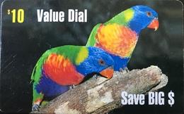 AUSTRALIE  -  Prepaid  -  Value Dial Phone Card  -  $ 10 - Australië