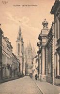Lot 667 Cartes Postales Pays Etrangers Et Antilles Cartes Scannées Incluses 187 Petit Format 480 Grand Format - 500 Postkaarten Min.