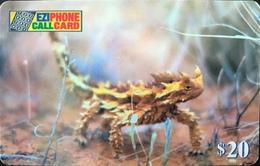 AUSTRALIE  -  Prepaid  -  EZIPHONE CALLCARD   -  Lizard  -  $ 20 - Australië