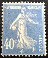 N° 237  NEUF ** SANS  CHARNIÈRE ( LOT:1131 ) - 1906-38 Säerin, Untergrund Glatt