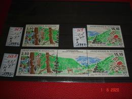 SAINT PIERRE ET MIQUELON  ANNEE 1992  NEUFS  N° 567  568  ET TRTPTYQUE N° 568A  L'ILE DE LANGLADE - Collections (without Album)
