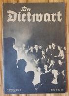 Der Dietwart, 2. Jahrgang Folge 2, 20.5.1936 - German