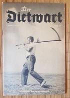 Der Dietwart, 2. Jahrgang Folge 5, 5.7.1936 - German