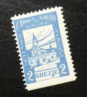Croatia C1920 Yugoslavia Charity Stamp Cinderella B1 - Verzamelingen & Reeksen