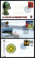 Colombia LOTE (5 Sobres 1º Día) Diferentes - Colombia