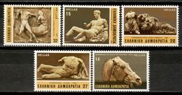 Greece 1984 Grecia / Sculptures The Parthenon MNH Esculturas El Partenón / Kp31  36-23 - Scultura