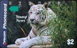 AUSTRALIE  -  Phonecard  -  Telecom Australia  -  White Tiger  -  $ 2 - Australië