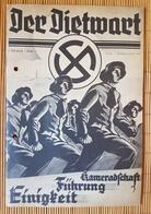 Der Dietwart, 1. Jahrgang Folge 3, 5.6.1935 - German