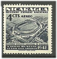 Nicaragua 1948 Base Ball Amateur, Mi 1000, Unused - Nicaragua