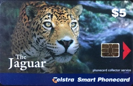 AUSTRALIE  -  Phonecard  -  Telstra Smart Phonecard   -  The Jaguar -  $ 5 - Australië