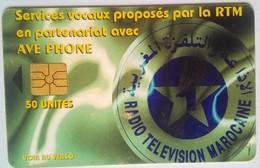 50 Units Radio Television Marocaine - Marokko