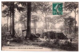 Chaville - Coin De Forêt Et Bûcherons Au Travail - édit. De L'Agence Dubois  + Verso - Chaville