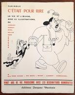 FARINOLE: C'ETAIT POUR RIRE. Illustré Par DUBOUT, EFFEL, PEYNET, Etc. 1953 Edition Originale Reliée. - Autres