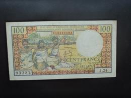 MADAGASCAR * : 100 FRANCS = 20 ARIARY    ND 1966    P 57a      SUP - Madagascar
