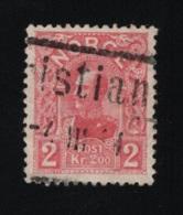 1909   Haakon VII Mi NO 74 Sn NO 69 Yt NO 68 AFA NO 74 - Gebruikt