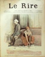 "REVUE ""LE RIRE""-1895-30-IMPOT Sur Les DOMESTIQUES - Libros, Revistas, Cómics"