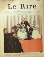 """REVUE """"LE RIRE""""-1895-36-NE BOUGEONS PLUS-BANC D'OEUVRE - Libros, Revistas, Cómics"""