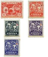 Ref. 208988 * HINGED * - SPAIN. 1945. ANTI-TUBERCULOSIS . ANTITUBERCULOSIS - 1931-Hoy: 2ª República - ... Juan Carlos I