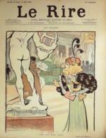"""REVUE """"LE RIRE""""-1896- 81-SALON-MINISTRES-LA PHOTOGRAAPHIE-JUIVE Aux PROVISIONS - Libros, Revistas, Cómics"""