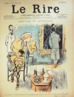 """REVUE """"LE RIRE""""-1896- 83-DERBY CHANTILLY-HUARD HEIDEBRINCK IRIBE DEPAQUIT - Libros, Revistas, Cómics"""