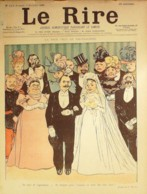 "REVUE ""LE RIRE""-1898-213-HUARD,CAPPIELLO,RADIGUET,ROUBILLE - Libros, Revistas, Cómics"