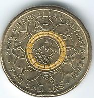 Australia - Elizabeth II - 2016 - 2 Dollars - Olympic Team - Decimal Coinage (1966-...)