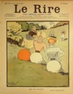 """REVUE """"LE RIRE""""-1899-250-JEU De BILLARD- MEUNIER,METIVET,GUYDO,LEANDRE,TIRET - Libros, Revistas, Cómics"""