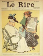 """REVUE """"LE RIRE""""-1899-256-COURTIERE -,FAU,LOURDEY,DEPAQUIT,RADIGUET,SOMM - Libros, Revistas, Cómics"""