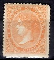 Espagne YT N° 88 Neuf *. Gomme D'origine. B/TB. A Saisir! - 1850-68 Kingdom: Isabella II