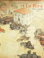"""REVUE """"LE RIRE""""-1901-349-PARIS-BERLIN AUTOMOBILE-,METIVET-BERTIN-LEANDRE,SEM,JEANNIOT,FAIVRE, - Libros, Revistas, Cómics"""