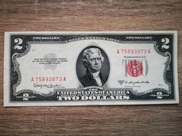USA - 2 DOLLARS *Rare* 1953-C AUNC - Billets De La Federal Reserve (1928-...)