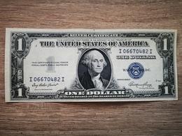 USA - SILVER CERTIFICATE $1 1935-E AUNC - Certificats D'Argent (1928-1957)