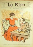 "REVUE ""LE RIRE""-1906-194-POULBOT,CARDONA,STEINLEIN,POURRIOL,JEANNIOT - Libros, Revistas, Cómics"