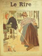 """REVUE """"LE RIRE""""-1910-377-BURRET FLORES AVELOT CARLEGLE DELAW,HEMARD - Libros, Revistas, Cómics"""
