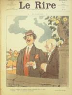 """REVUE """"LE RIRE""""-1910-393-FAIVRE DELANNOY STA DEVAMBEZ POURRIOL,ALEX - Libros, Revistas, Cómics"""