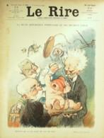 """REVUE """"LE RIRE""""-1910-407-LEANDRE VILLA MIRANDE PIERLIS CARLEGLE,METIVET - Libros, Revistas, Cómics"""