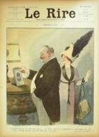 """REVUE """"LE RIRE""""-1911-428-ROUBILLE GUILLAUME LE RALLIC FABIANO,RIKAR - Libros, Revistas, Cómics"""