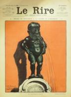"""REVUE """"LE RIRE""""-1914-598-FAIVRE CAPY LABORDE FABIANO HEMARD GUILLAUME - Libros, Revistas, Cómics"""