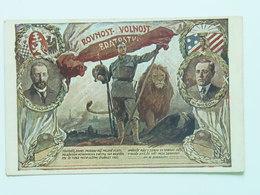 Czechia 1041 Legie Legion 1915  Austria T.G. Masaryk W. Wilson Ed Zmatlik Palička - Patriottiche