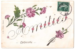Amitiés Oyonnax - édit. G.H. Harel  + Verso - Oyonnax