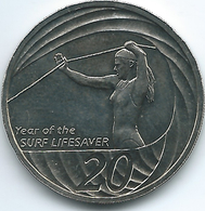 Australia - Elizabeth II - 20 Cents - 2007 - Year Of The Surf Lifesaver - KM820 - Decimal Coinage (1966-...)