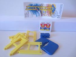 Kinder Surprise Deutch 1996 : 656364 + BPZ + Stickers - Montables