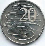 Australia - Elizabeth II - 20 Cents - 2016 - Queen's 90th Birthday - 3rd Portrait - KM82 - 9,108 Minted - Decimal Coinage (1966-...)