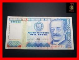 PERU 500.000 500000 Intis 21.12.1989 P.147 BdM   AU - Perù