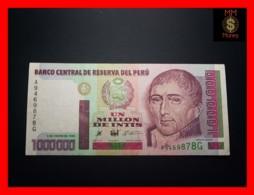 PERU 1.000.000 1000000 Intis 5.1.1990 P. 148 TDRL  VF - Perù