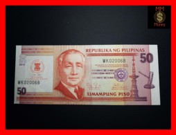 PHILIPPINES 50 Piso 2012  P. 211 A  *COMMEMORATIVE*  UNC - Filippijnen