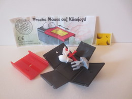 Kinder Surprise Deutch 1996 : 658421 + BPZ + Stickers - Montables