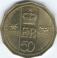 Australia - 2003 - Elizabeth II Coronation Golden Jubilee - KM799 - Decimal Coinage (1966-...)